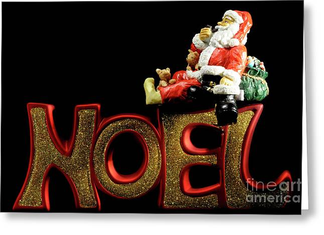 Santa Noel Greeting Card