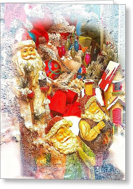 Santa Scene 1 Greeting Card