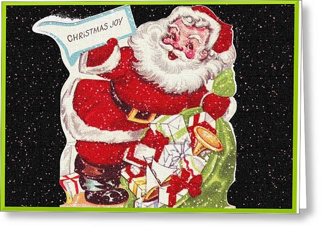 Santa's Bag  Greeting Card