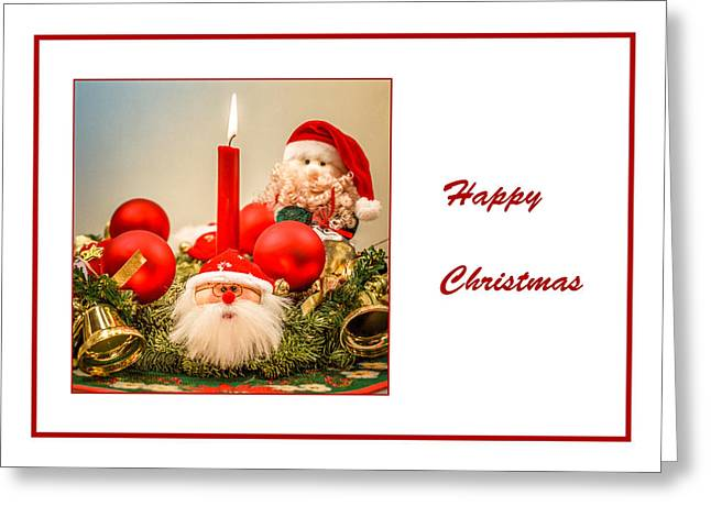 Christmas 2 Greeting Card by Mona Stut