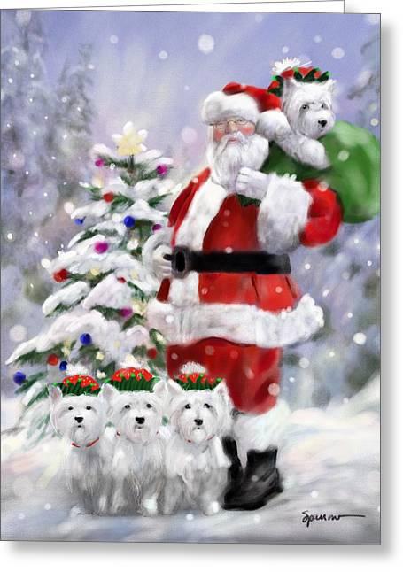 Santa's Helpers Greeting Card