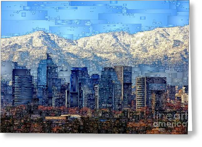 Santiago De Chile, Chile Greeting Card