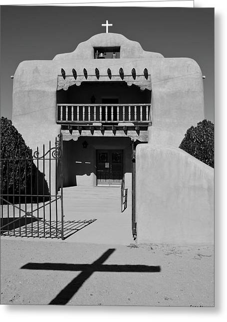 Santo Tomas De Abiquiu Church Greeting Card