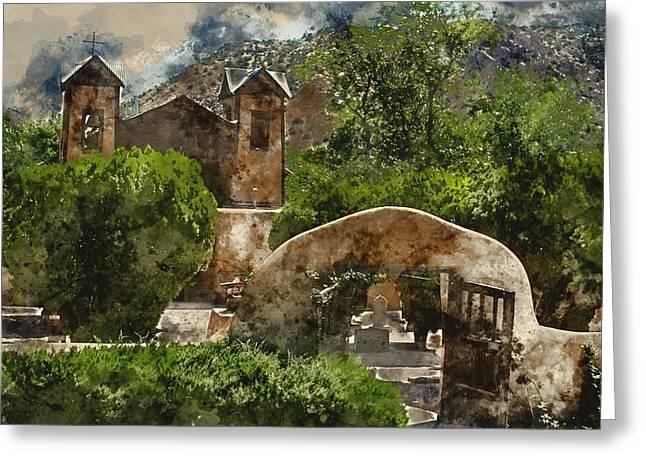 Santuario De Chimayo 1 Greeting Card by Kevin O'Hare