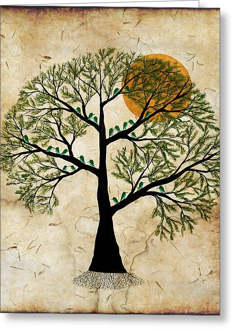 Santushti Greeting Card by Sumit Mehndiratta