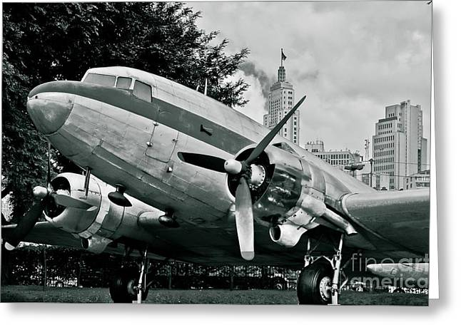 Classic Aircraft Douglas Dc-3 Greeting Card