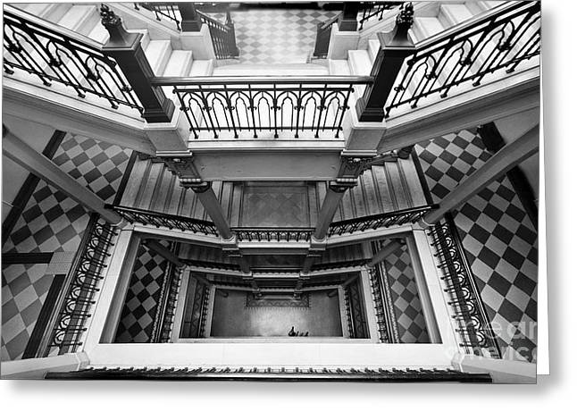 Sao Paulo - Gorgeous Staircases Greeting Card