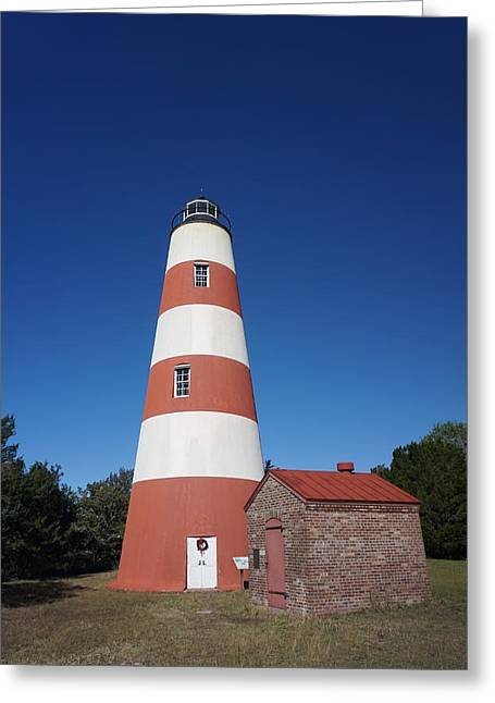 Sapelo Island Lighthouse Greeting Card