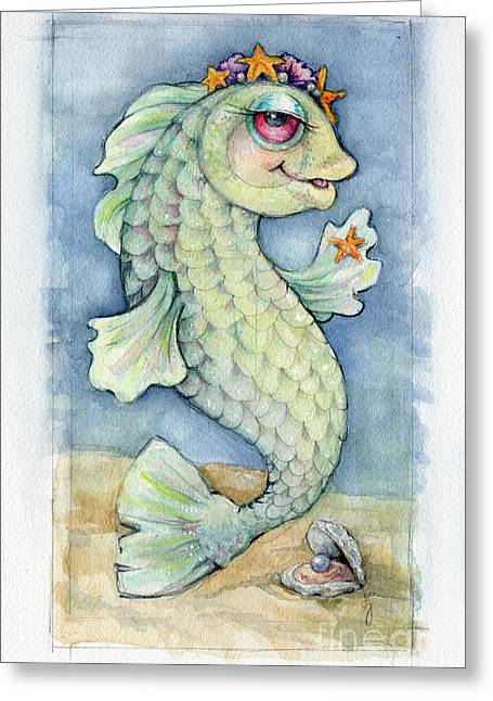Sarafina Seabling Greeting Card