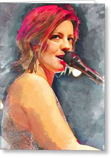 Sarah Mclachlan Greeting Card