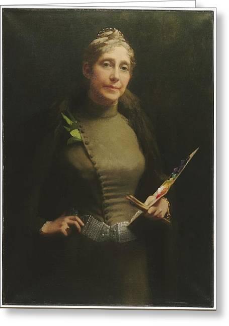 Sarah Wyman Whitman Greeting Card
