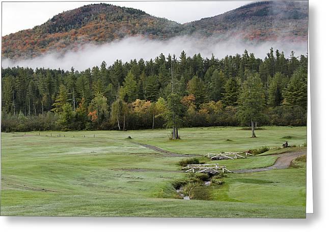 Saranac Golf Club - Upstate New York Greeting Card