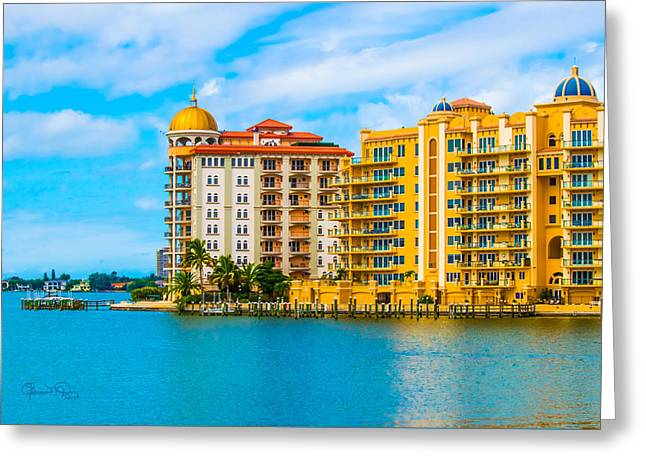 Sarasota Architecture Greeting Card