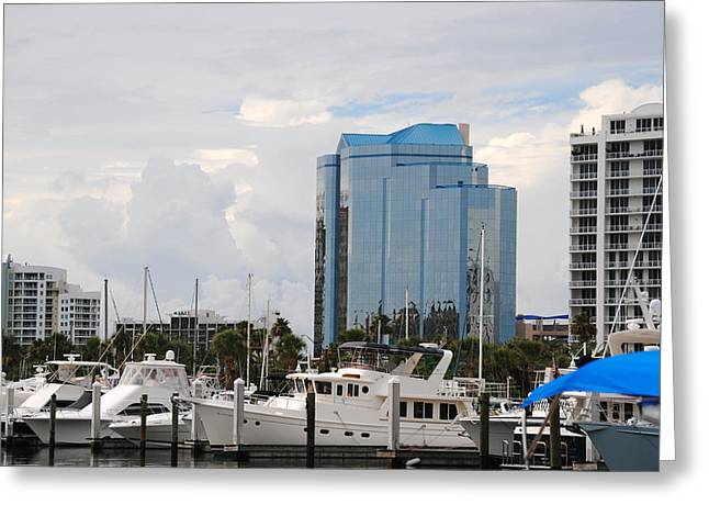 Sarasota Greeting Card by Steven Scott