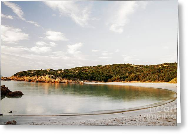 Greeting Card featuring the photograph Sardinian View by Yuri Santin