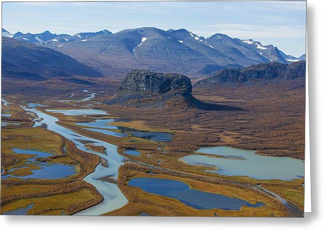 Sarek Nationalpark Greeting Card