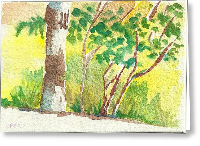 Sarris' Garden 4 Greeting Card