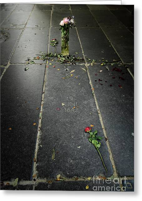 Saskia Rembrandt's Tomb Greeting Card by RicardMN Photography