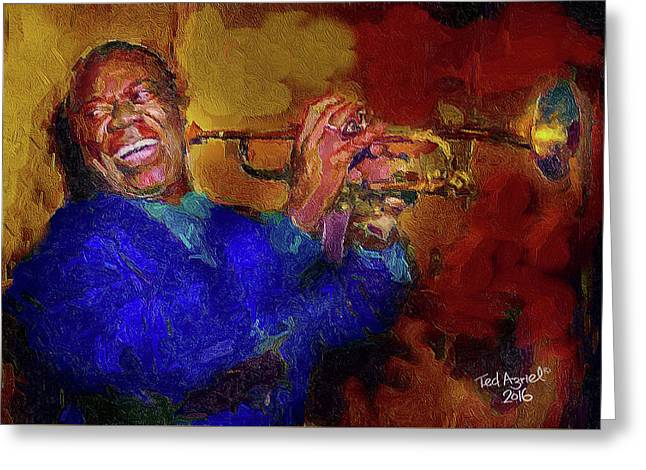 Satchmo Greeting Card
