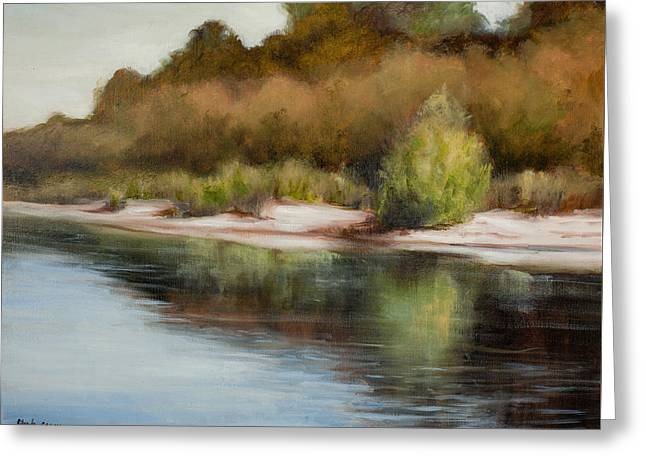 Satilla River Reflections Greeting Card