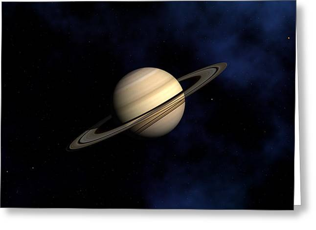 Saturn Greeting Card