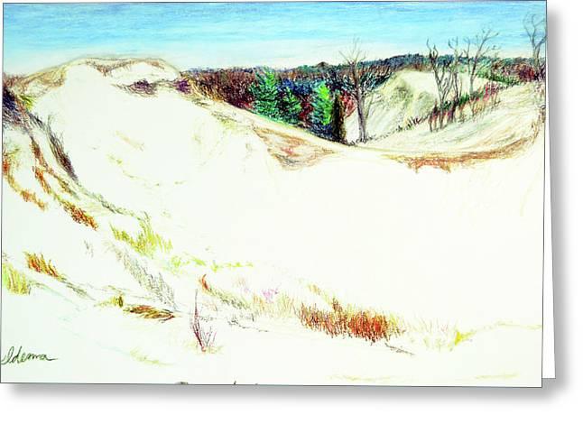 Saugatuck Dunes Greeting Card