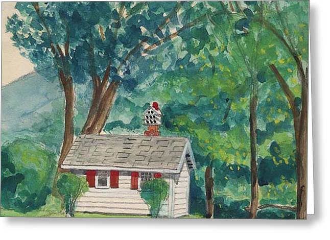 Sauna At Murray Hollow Greeting Card by Fred Jinkins