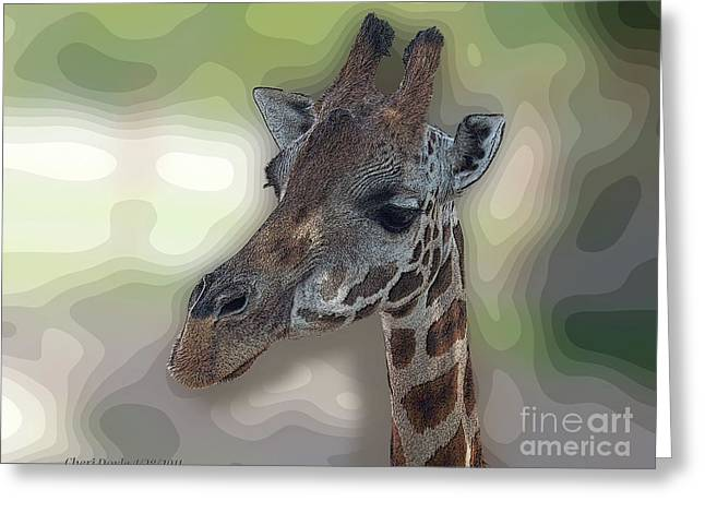 Savanna Soul Greeting Card by Cheri Doyle