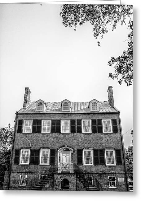 Savannah Architecture 3 Greeting Card by Gestalt Imagery
