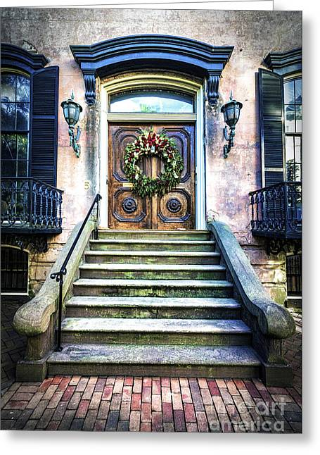 Greeting Card featuring the photograph Savannah House 5 by Anthony Baatz