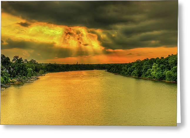 Savannah River  Greeting Card by Ahmed Shanab