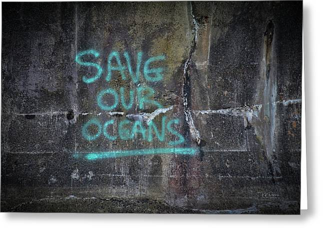 Save Our Oceans Greeting Card