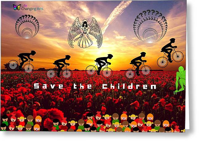 Save The Children Greeting Card