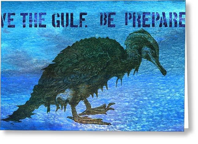 Save The Gulf America 3 Greeting Card