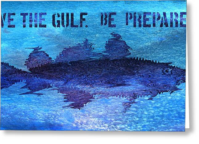 Save The Gulf America Greeting Card