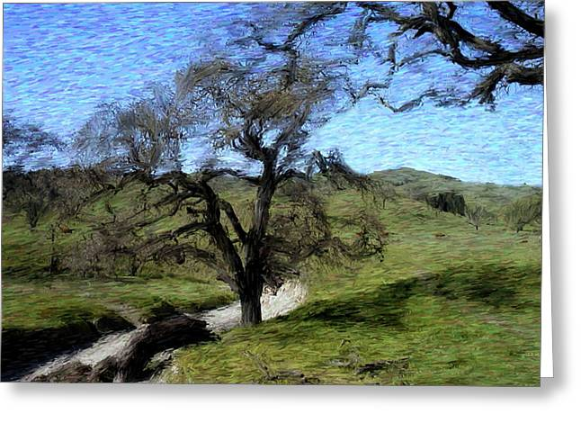 Save The Oaks Greeting Card