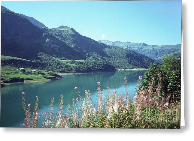 Savoy Lake Scene Greeting Card