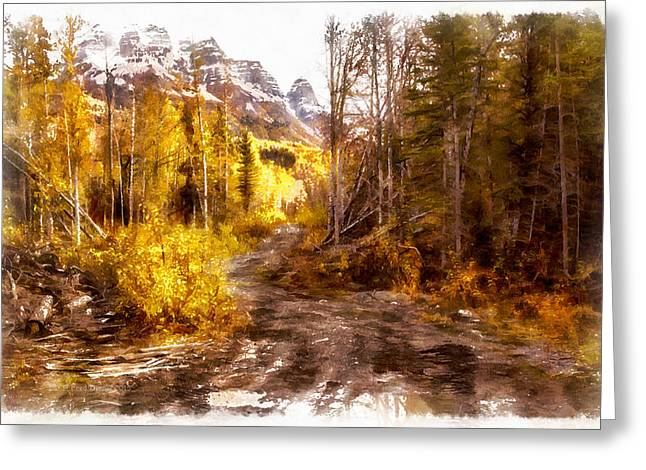 Sawmill Road Greeting Card