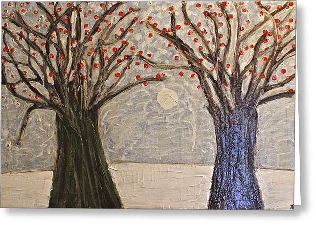 Sawsan's Trees Greeting Card