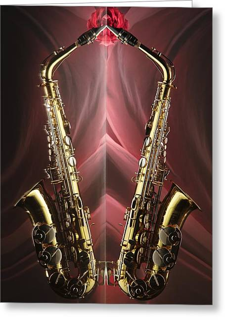 Sax Appeal Greeting Card