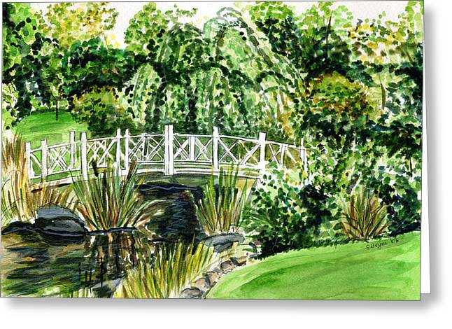 Sayen Bridge Greeting Card