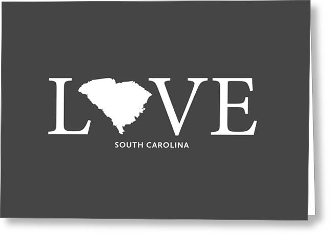 Sc Love Greeting Card