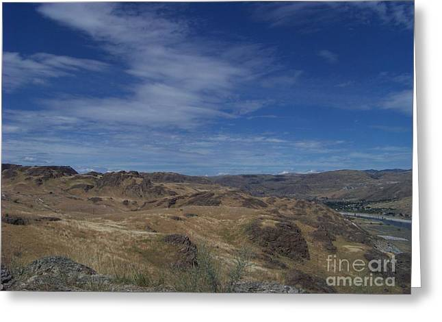 Scablands At Grand Coulee Greeting Card