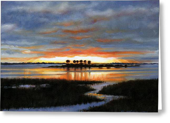 Rick Mckinney Greeting Cards - Scallop Country Greeting Card by Rick McKinney