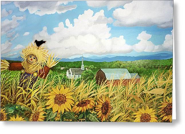Scarecrow Farm Greeting Card