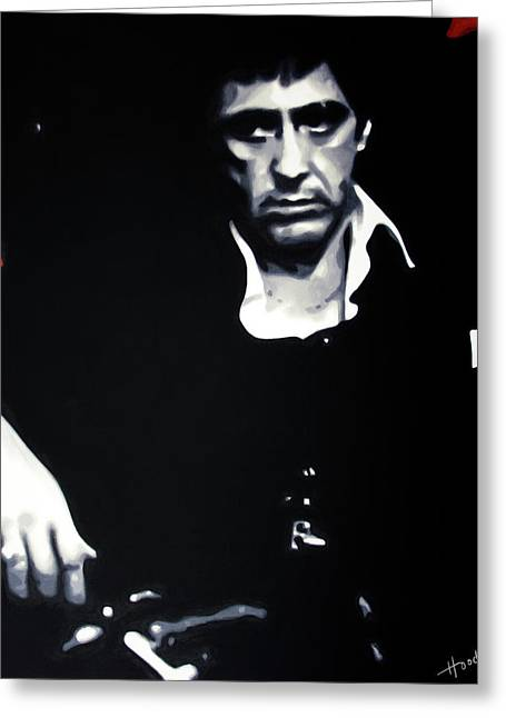 Scarface Moody Greeting Card