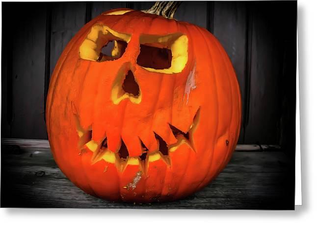 Scarface The Pumpkin Greeting Card