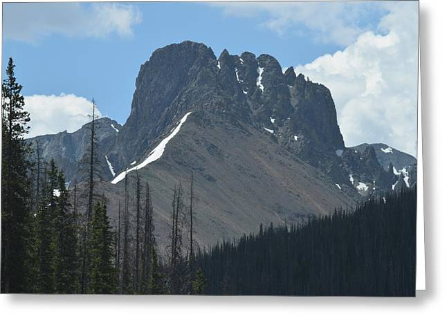 Mountain Scenery Hwy 14 Co Greeting Card