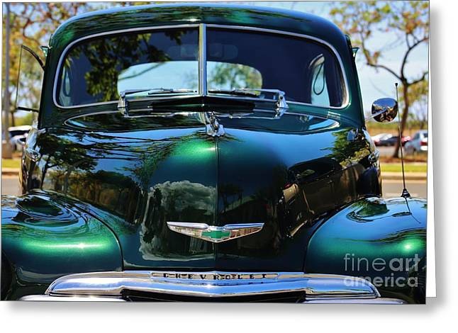 Scenic 1948 Chevrolet Greeting Card by Craig Wood