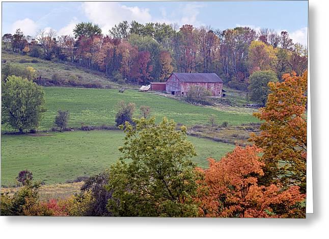 Scenic Amish Landscape 1 Greeting Card